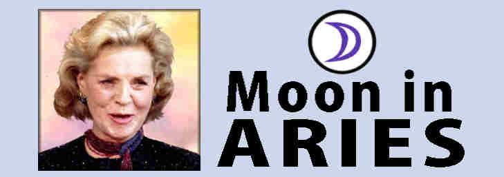 Analysis of personaliyt, Laurn Bacall, Aries Moon