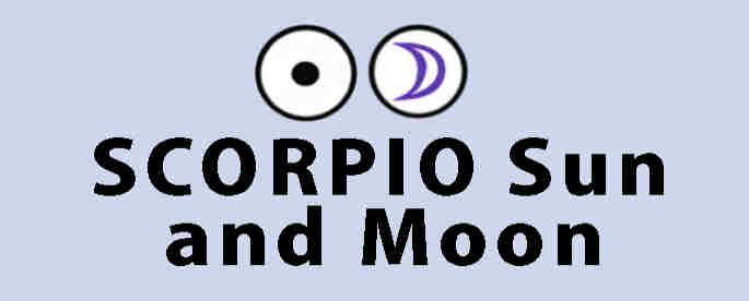 Scorpio Sun, Moon