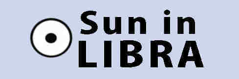 Sun in Libra