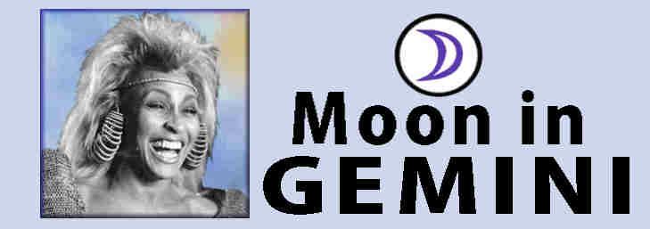 personalitu traits, Tina Turner Gemini Moon