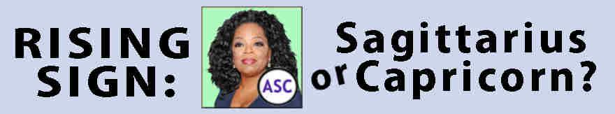 Aquarius Oprah Winfrey Ascendant