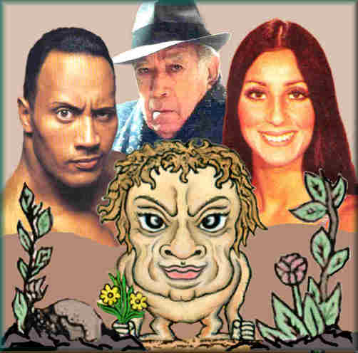 Physical appearance of Taurus. Dwane Johnson, Anthony Quinn, Cher