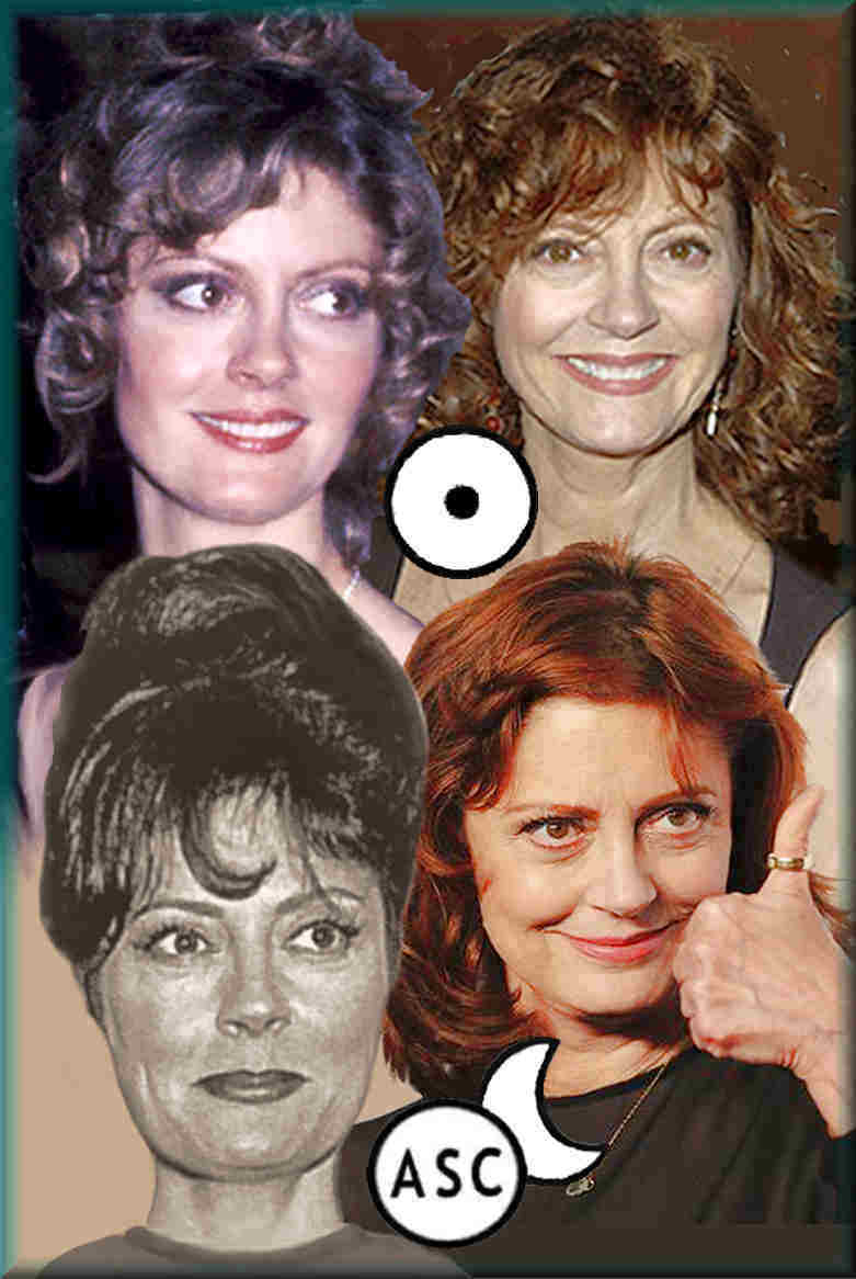 personality and psychology, Susan Sarandon