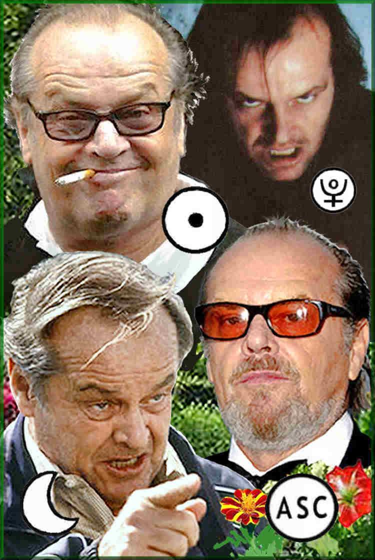 character traits of Jack Nicholson