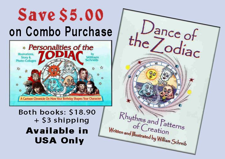 Combo Dance of the Zodiac, Personalities of the Zodiac